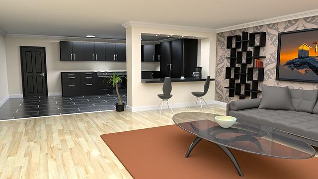 návrh moderního bytu