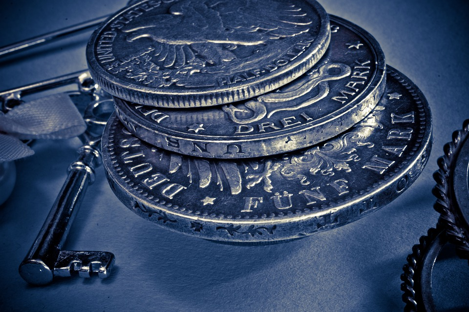 stříbrné mince